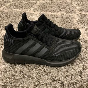 Adidas Swift Run Ortholite Running Shoes Blk Sz 6